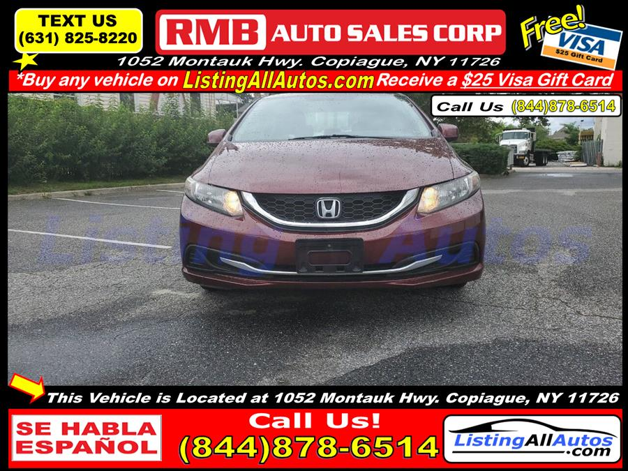 Used 2013 Honda Civic in Patchogue, New York   www.ListingAllAutos.com. Patchogue, New York