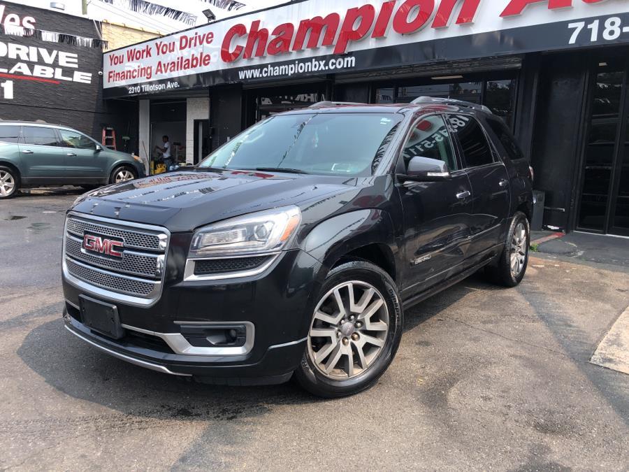 Used 2014 GMC Acadia in Bronx, New York | Champion Auto Sales. Bronx, New York