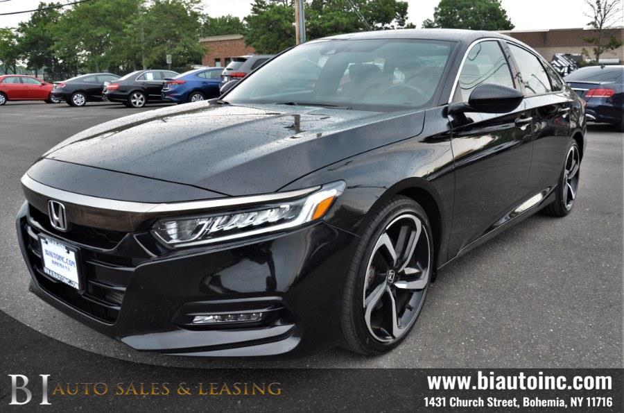 Used Honda Accord Sedan Sport 1.5T CVT 2018   B I Auto Sales. Bohemia, New York