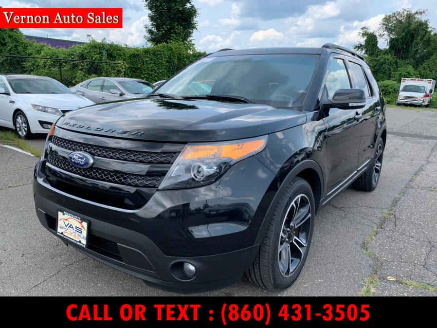 Used 2015 Ford Explorer in Manchester, Connecticut | Vernon Auto Sale & Service. Manchester, Connecticut