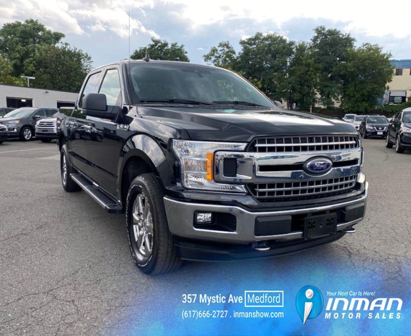 Used Ford F-150 XLT 4WD SuperCrew 5.5'' Box 2019   Inman Motors Sales. Medford, Massachusetts