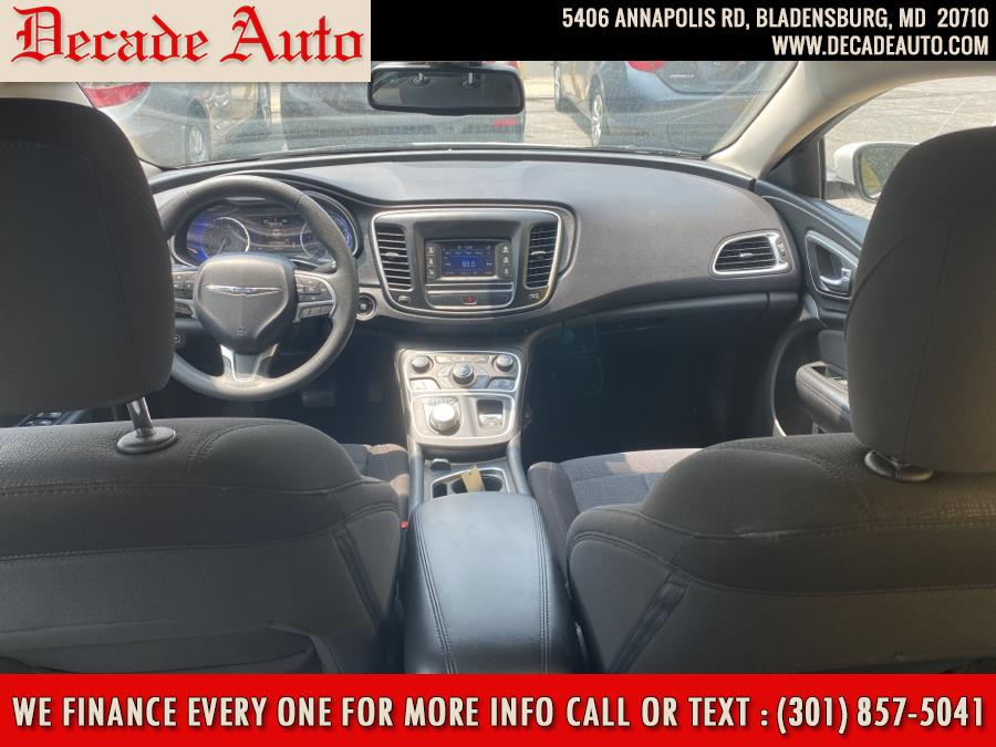 Used Chrysler 200 4dr Sdn Limited FWD 2015 | Decade Auto. Bladensburg, Maryland