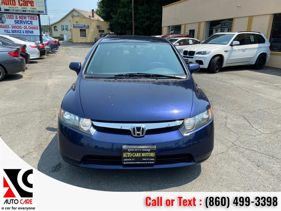 Used Honda Civic Sdn 4dr Auto LX 2008 | Auto Care Motors. Vernon , Connecticut