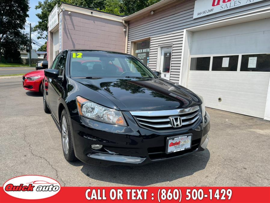 Used Honda Accord Sdn 4dr V6 Auto EX-L 2012 | Quick Auto LLC. Bristol, Connecticut