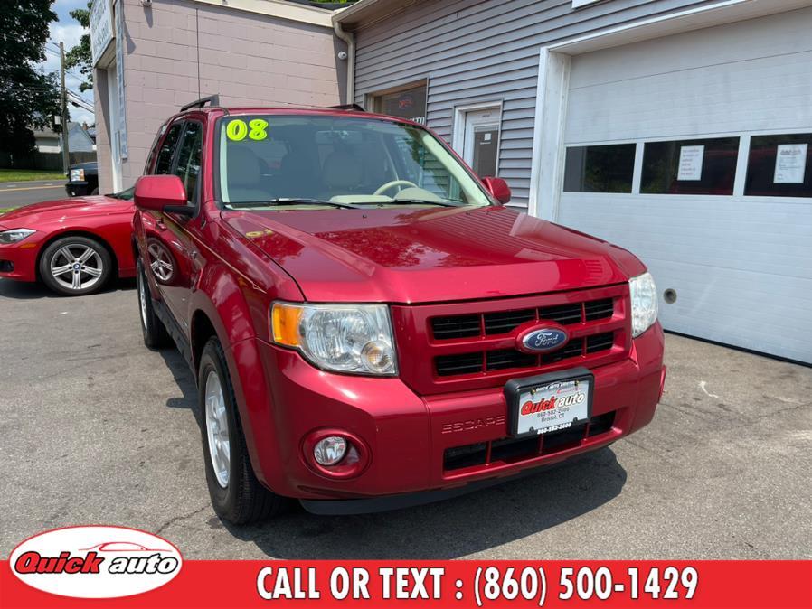 Used Ford Escape 4WD 4dr V6 Auto Limited 2008 | Quick Auto LLC. Bristol, Connecticut