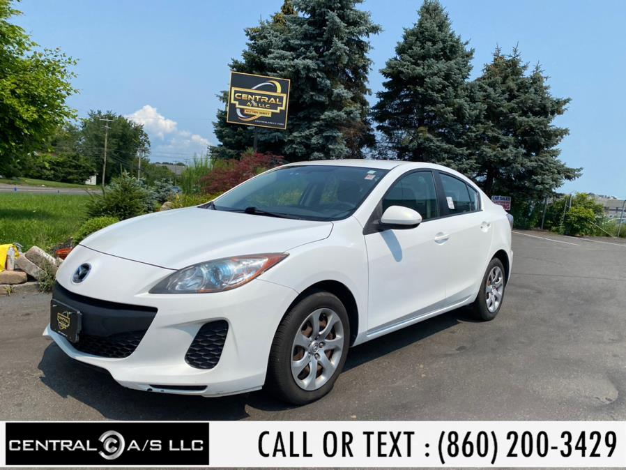 Used Mazda Mazda3 4dr Sdn Auto i Sport 2013 | Central A/S LLC. East Windsor, Connecticut