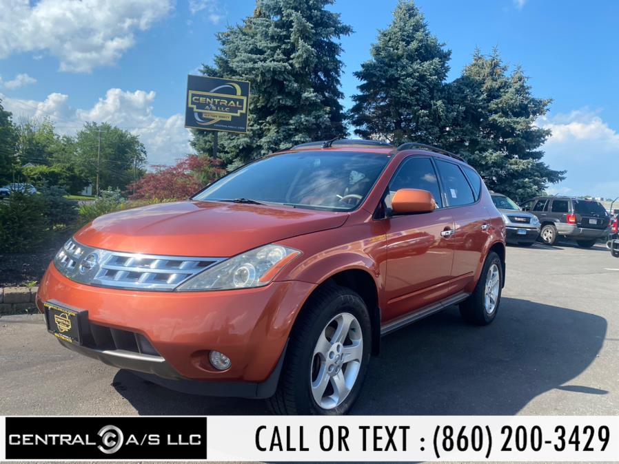 Used Nissan Murano 4dr SL AWD V6 2004   Central A/S LLC. East Windsor, Connecticut