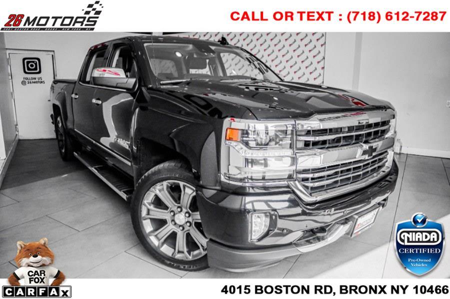 "Used Chevrolet Silverado 1500 4WD Crew Cab 153.0"" High Country 2018 | 26 Motors Corp. Bronx, New York"