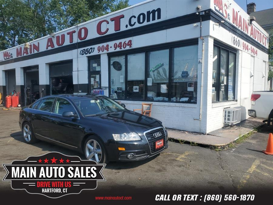 Used Audi A6 4dr Sdn quattro 3.0T Premium Plus 2011   Main Auto Sales LLC. Hartford, Connecticut