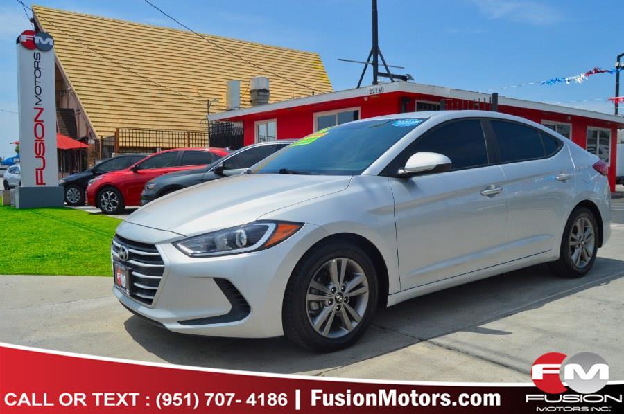 Used 2018 Hyundai Elantra in Moreno Valley, California | Fusion Motors Inc. Moreno Valley, California