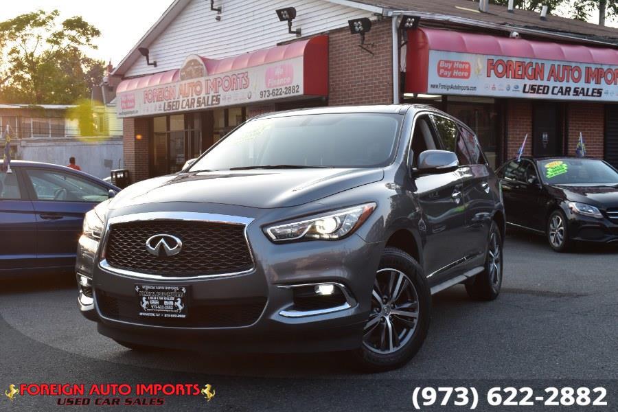 Used 2018 INFINITI QX60 in Irvington, New Jersey   Foreign Auto Imports. Irvington, New Jersey