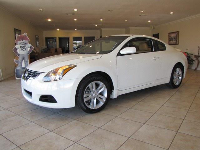 Used Nissan Altima 2dr Cpe I4 CVT 2.5 S 2012 | Auto Network Group Inc. Placentia, California