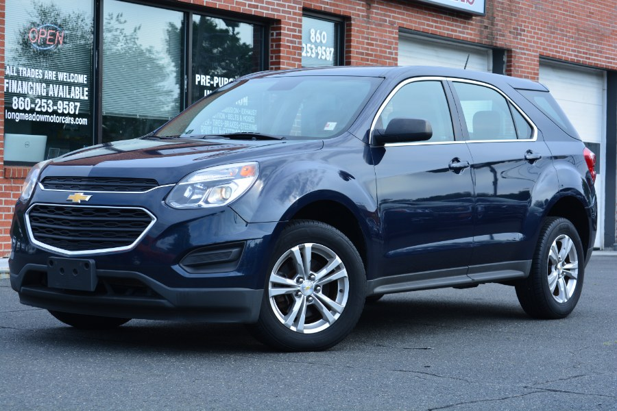 Used 2016 Chevrolet Equinox in ENFIELD, Connecticut | Longmeadow Motor Cars. ENFIELD, Connecticut