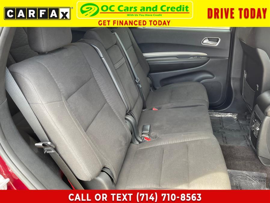 Used Dodge Durango SXT RWD 2018   OC Cars and Credit. Garden Grove, California