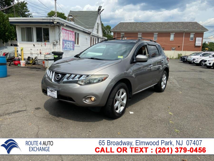 Used Nissan Murano AWD 4dr SL 2009 | Route 4 Auto Exchange. Elmwood Park, New Jersey