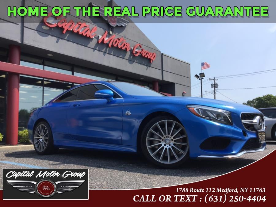 Used 2016 Mercedes-Benz S-Class in Medford, New York | Capital Motor Group Inc. Medford, New York