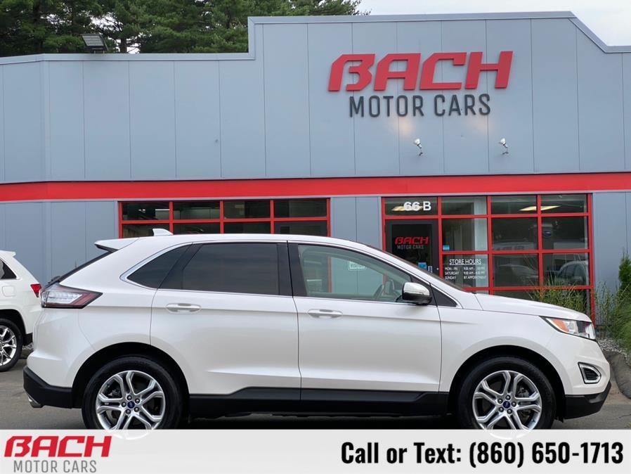 Used Ford Edge Titanium AWD 2017   Bach Motor Cars. Canton , Connecticut