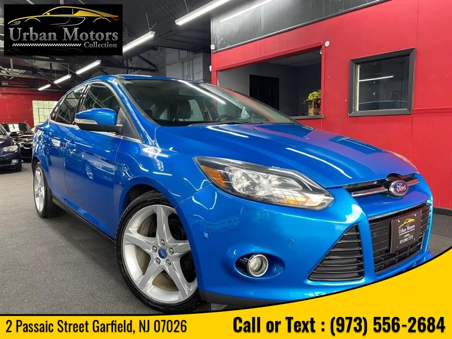 Used Ford Focus Titanium 2012 | Urban Motors Collection. Garfield, New Jersey