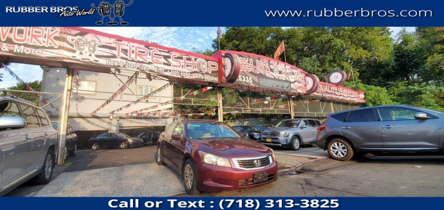 Used Honda Accord Sdn 4dr I4 Auto LX 2009 | Rubber Bros Auto World. Brooklyn, New York