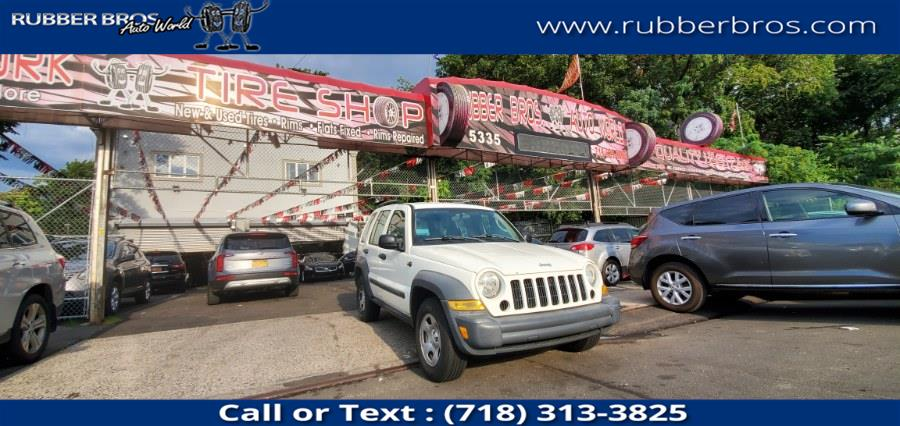 Used Jeep Liberty 4dr Sport 2006   Rubber Bros Auto World. Brooklyn, New York
