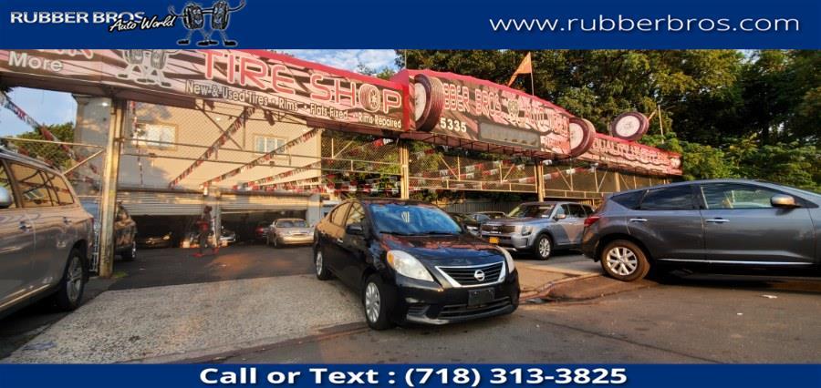 Used Nissan Versa 4dr Sdn CVT 1.6 S 2012 | Rubber Bros Auto World. Brooklyn, New York