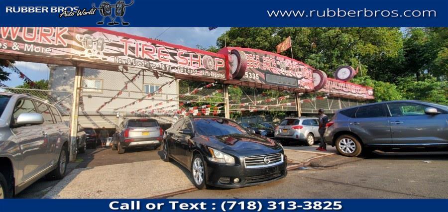 Used Nissan Maxima 4dr Sdn V6 CVT 3.5 SV w/Premium Pkg 2012   Rubber Bros Auto World. Brooklyn, New York