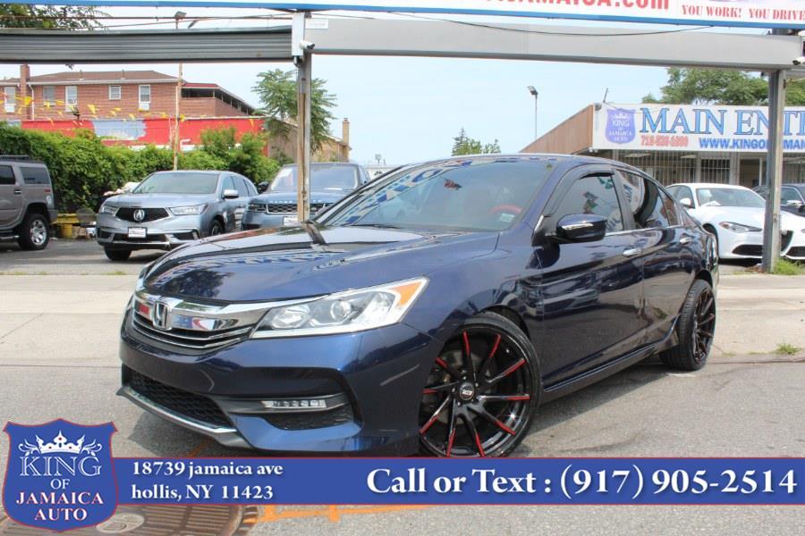 Used Honda Accord Sedan 4dr I4 CVT Sport 2016   King of Jamaica Auto Inc. Hollis, New York