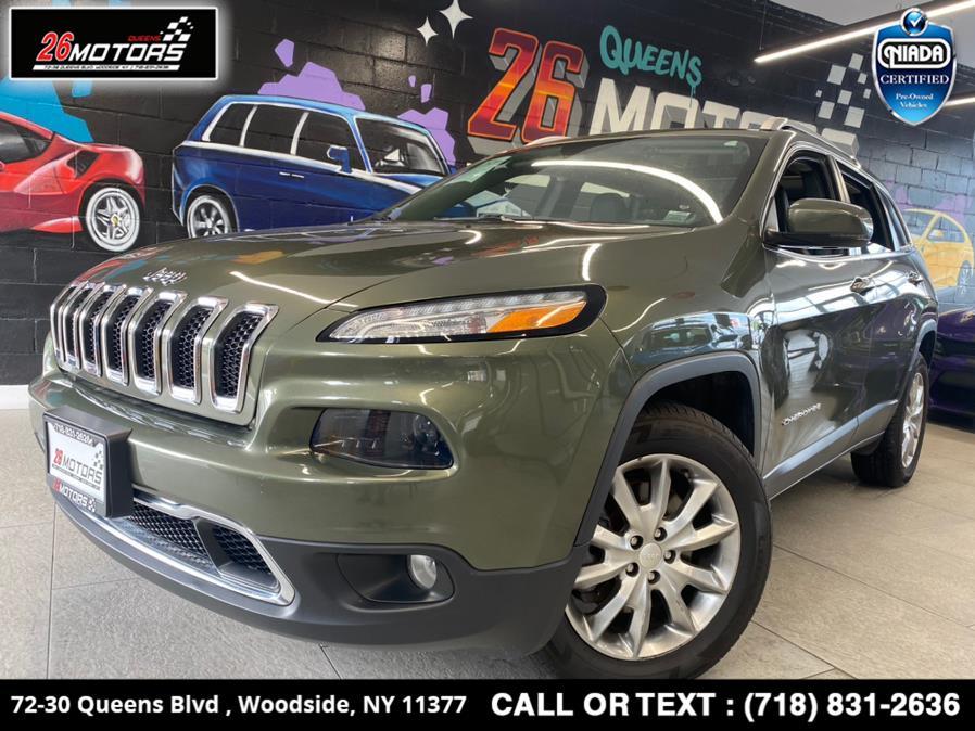 Used Jeep Cherokee Limited 4x4 2018 | 26 Motors Queens. Woodside, New York