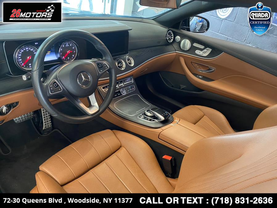 Used Mercedes-Benz E-Class E 400 4MATIC Coupe 2018 | 26 Motors Queens. Woodside, New York