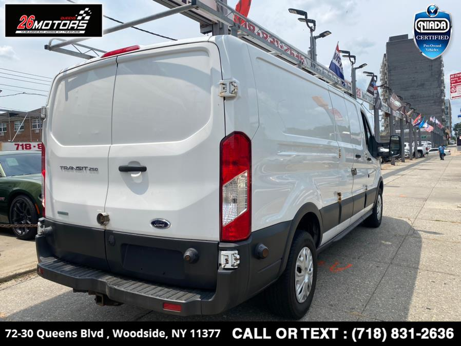 """Used Ford Transit Cargo Van T-250 148"""" Low Rf 9000 GVWR Swing-Out RH Dr 2015 