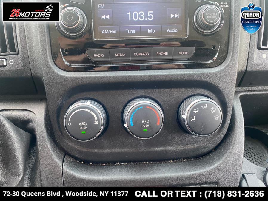 "Used Ram ProMaster Cargo Van 2500 High Roof 136"" WB 2019 | 26 Motors Queens. Woodside, New York"