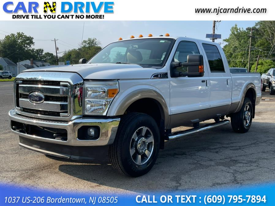 Used Ford F-250 Sd Lariat Crew Cab 4WD 2012   Car N Drive. Bordentown, New Jersey
