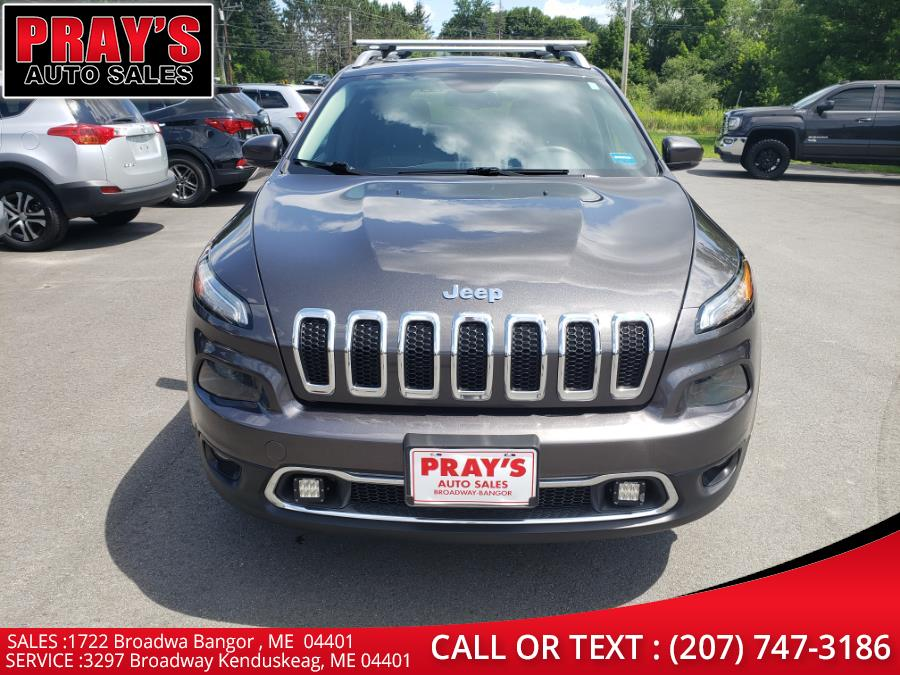 Used Jeep Cherokee 4WD 4dr Limited 2015 | Pray's Auto Sales . Bangor , Maine