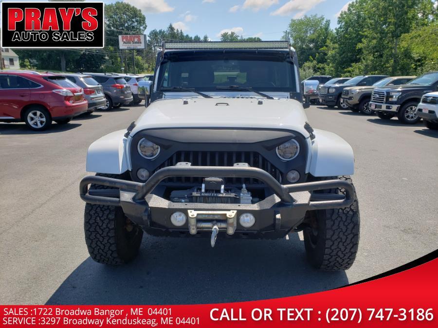 Used Jeep Wrangler Unlimited 4WD 4dr Sahara 2015   Pray's Auto Sales . Bangor , Maine