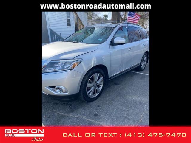 Used Nissan Pathfinder Platinum 2014 | Boston Road Auto. Springfield, Massachusetts