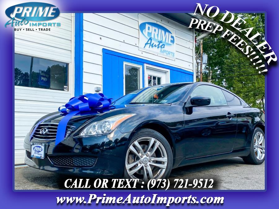 Used 2009 Infiniti G37 Coupe in Bloomingdale, New Jersey | Prime Auto Imports. Bloomingdale, New Jersey