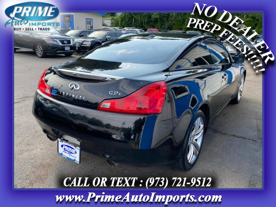 Used Infiniti G37 Coupe 2dr x AWD 2009   Prime Auto Imports. Bloomingdale, New Jersey