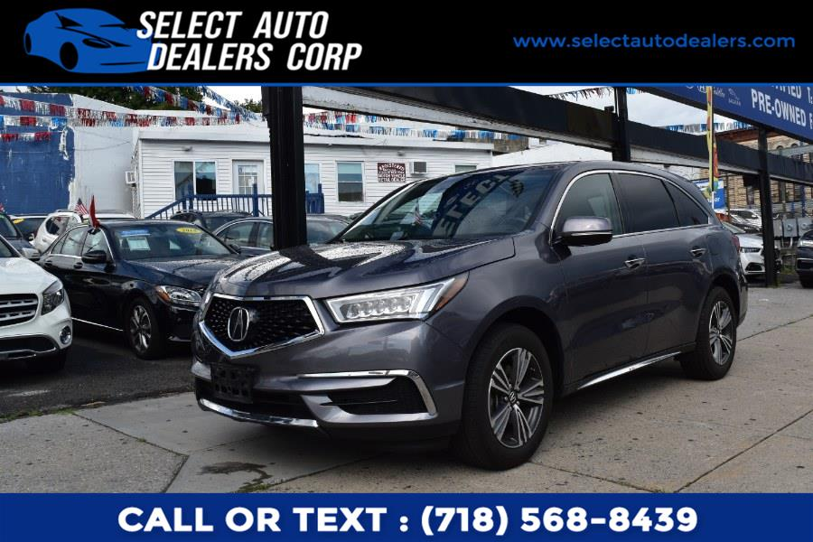 Used Acura MDX SH-AWD 2018   Select Auto Dealers Corp. Brooklyn, New York