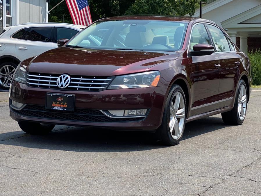 Used Volkswagen Passat 4dr Sdn 2.0L DSG TDI SEL Premium 2014 | Lava Motors 2 Inc. Canton, Connecticut