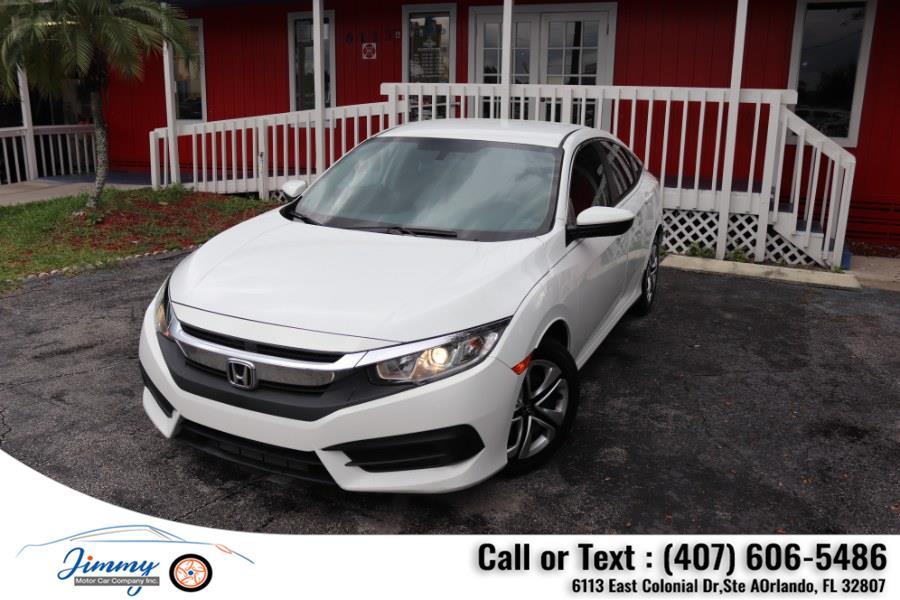 Used Honda Civic Sedan 4dr CVT LX 2016 | Jimmy Motor Car Company Inc. Orlando, Florida