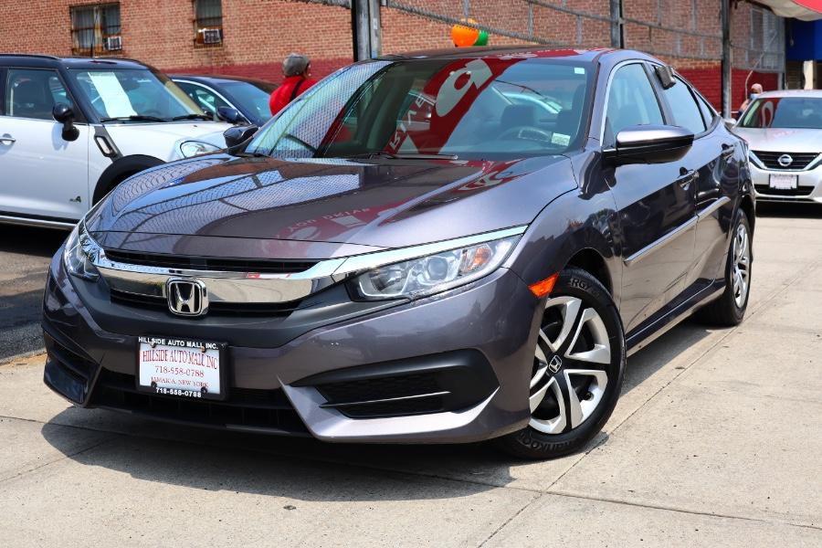 Used Honda Civic Sedan LX CVT 2018 | Hillside Auto Mall Inc.. Jamaica, New York
