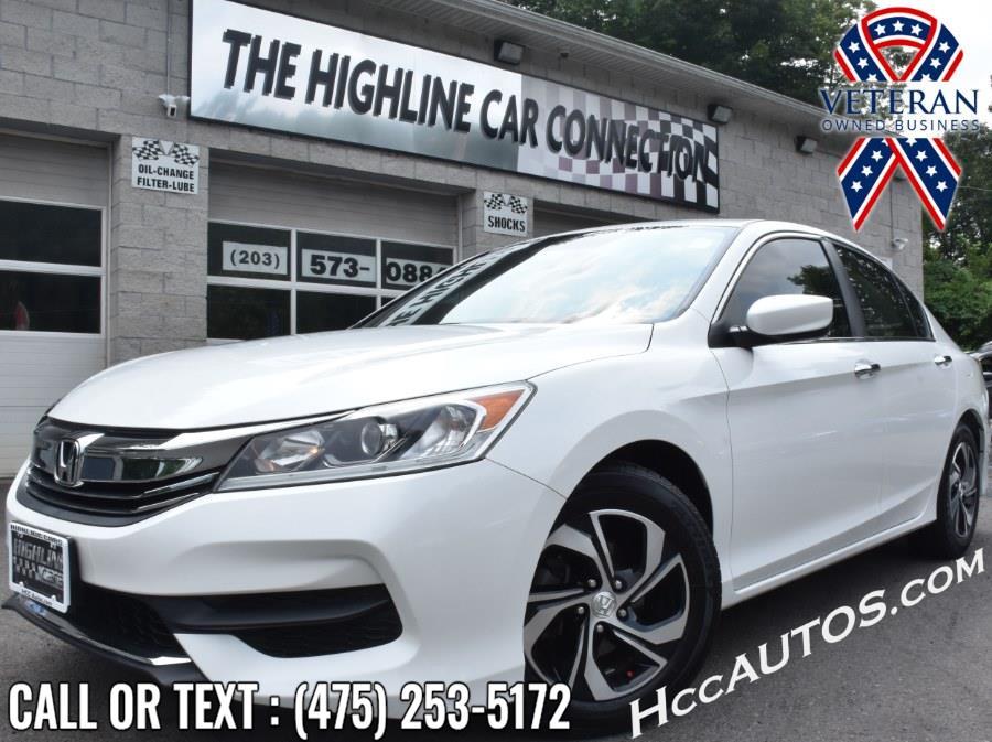 Used Honda Accord Sedan 4dr I4 CVT LX w/Honda Sensing 2016 | Highline Car Connection. Waterbury, Connecticut