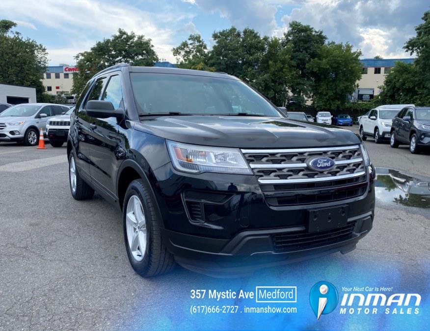 Used Ford Explorer Base 4WD 2018   Inman Motors Sales. Medford, Massachusetts