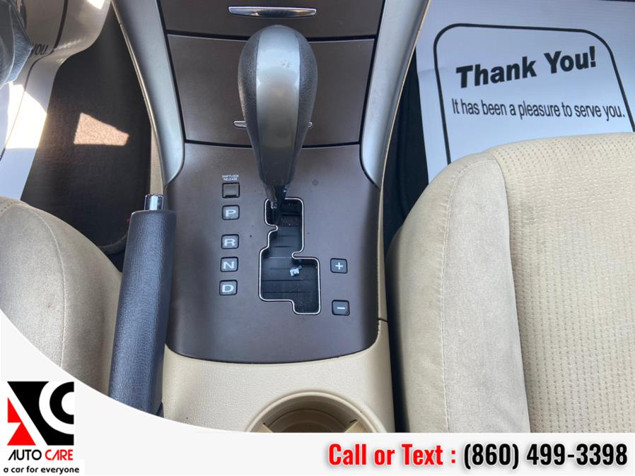 Used Hyundai Sonata 4dr Sdn I4 Auto GLS 2009 | Auto Care Motors. Vernon , Connecticut