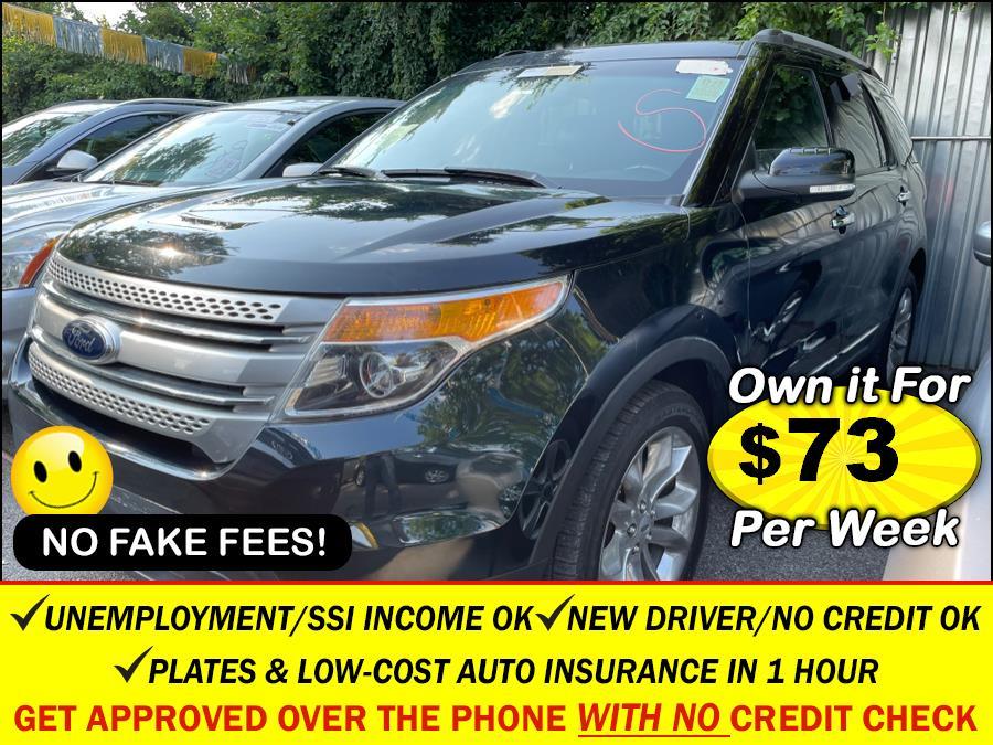 Used 2014 Ford Explorer in Rosedale, New York | Sunrise Auto Sales. Rosedale, New York