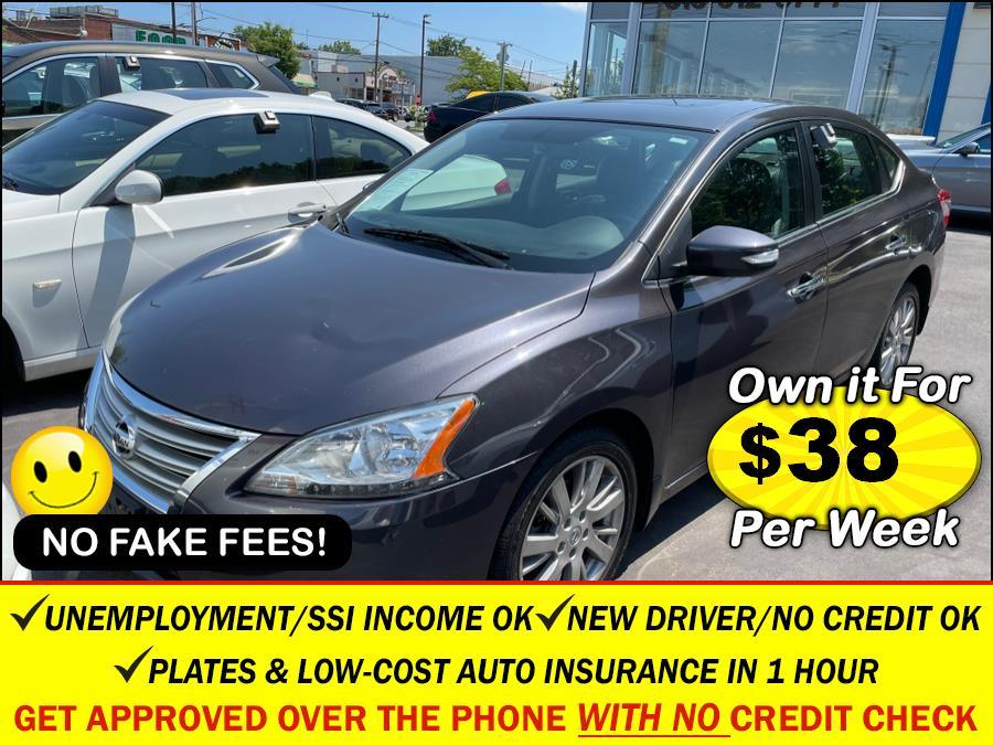 Used Nissan Sentra 4dr Sdn I4 CVT SL 2014   Sunrise Auto Sales. Rosedale, New York