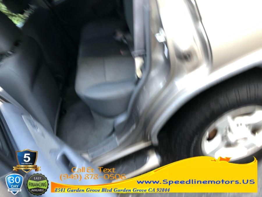 Used Nissan Xterra 4dr XE 2WD V6 Auto 2004   Speedline Motors. Garden Grove, California