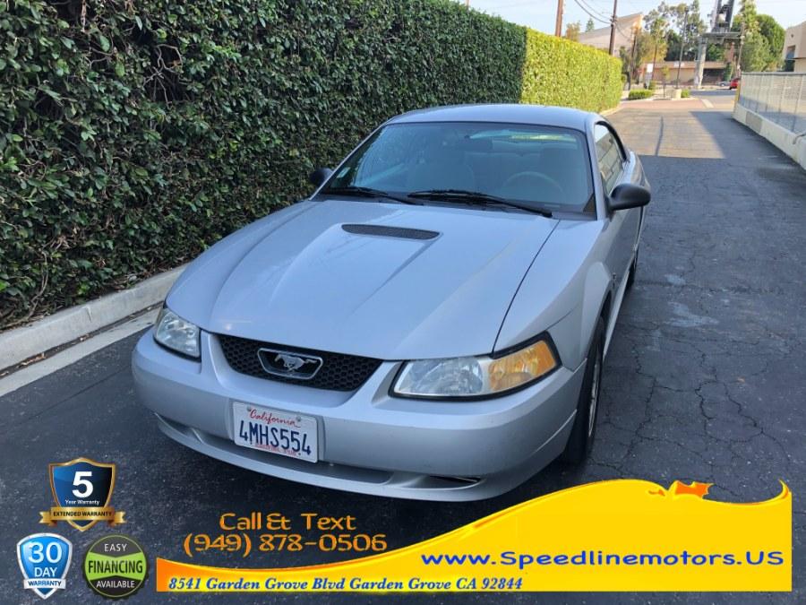 Used Ford Mustang 2dr Cpe 2000 | Speedline Motors. Garden Grove, California