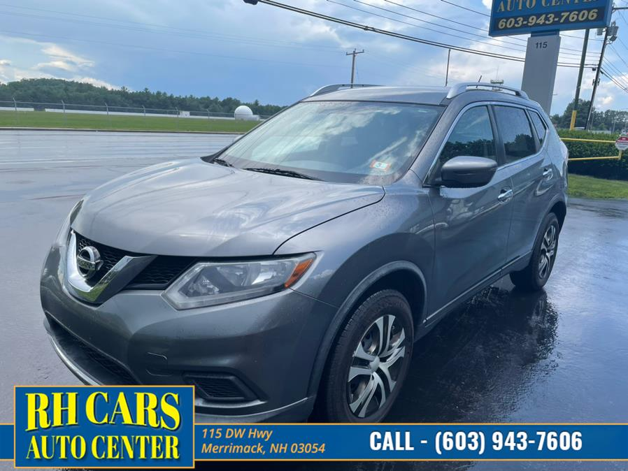 Used 2016 Nissan Rogue in Merrimack, New Hampshire   RH Cars LLC. Merrimack, New Hampshire