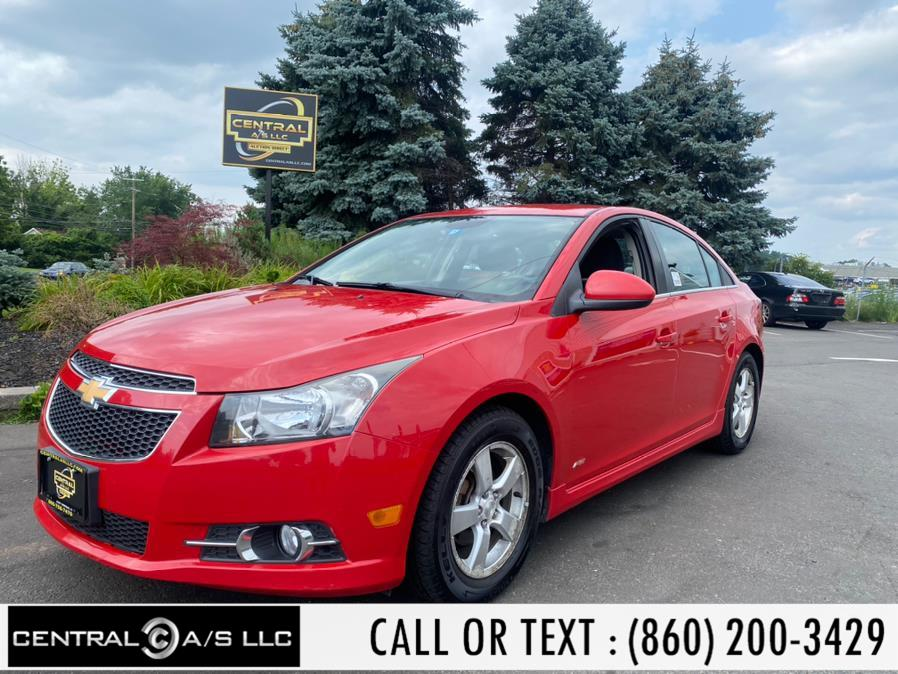 Used Chevrolet Cruze 4dr Sdn Man 1LT 2013 | Central A/S LLC. East Windsor, Connecticut